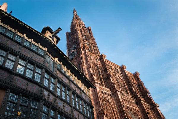 Visite cathédrale de Strasbourg