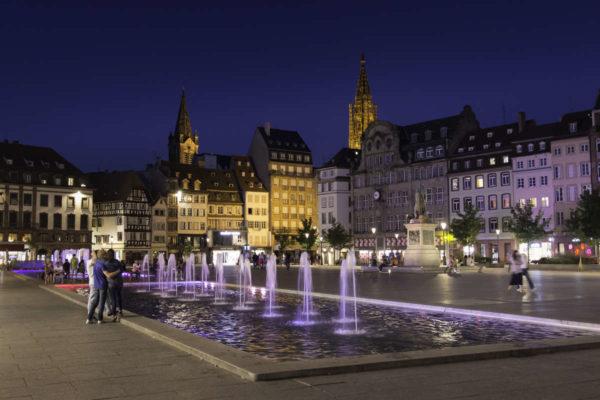 Visite Strasbourg place kléber