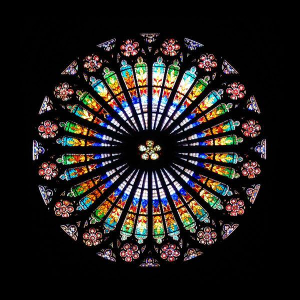 Visite Strasbourg rosace cathédrale