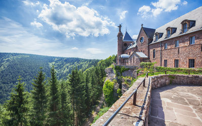 Prenez de la hauteur lors d'un week-end en Alsace