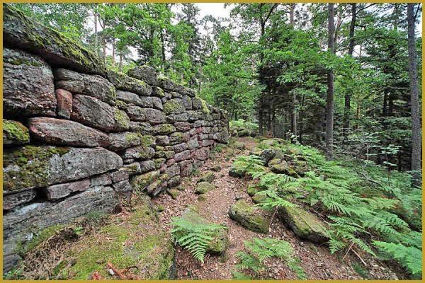 visite mur paien mont saint odile