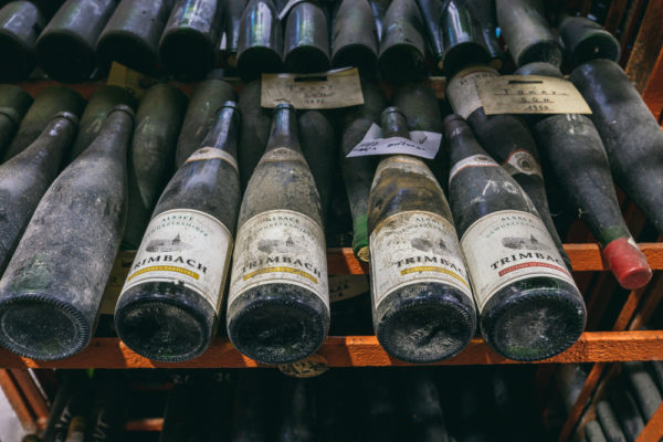 dégustation route des vins alsace